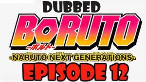 Boruto Episode 12 Dubbed English Free Online