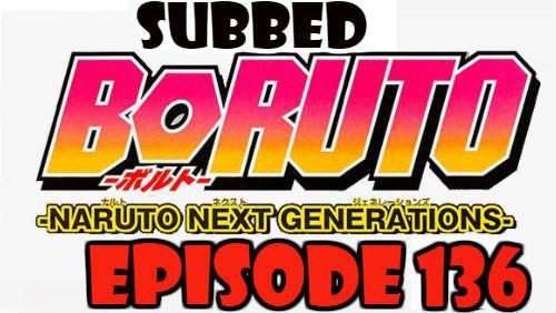 Boruto Episode 136 Subbed English Free Online