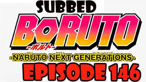 Boruto Episode 146 Subbed English Free Online