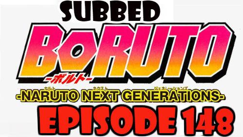 Boruto Episode 148 Subbed English Free Online