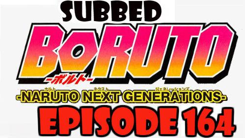 Boruto Episode 164 Subbed English Free Online