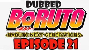 Boruto Episode 21 Dubbed English Free Online