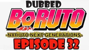 Boruto Episode 32 Dubbed English Free Online