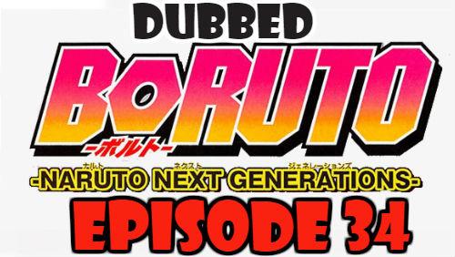 Boruto Episode 34 Dubbed English Free Online