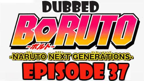 Boruto Episode 37 Dubbed English Free Online