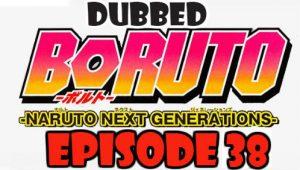 Boruto Episode 38 Dubbed English Free Online