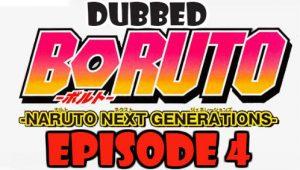 Boruto Episode 4 Dubbed English Free Online