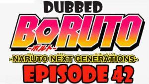 Boruto Episode 42 Dubbed English Free Online