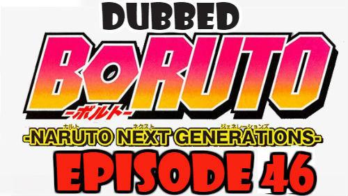 Boruto Episode 46 Dubbed English Free Online