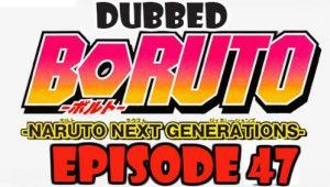 Boruto Episode 47 Dubbed English Free Online
