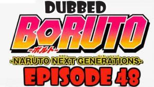 Boruto Episode 48 Dubbed English Free Online