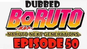 Boruto Episode 50 Dubbed English Free Online