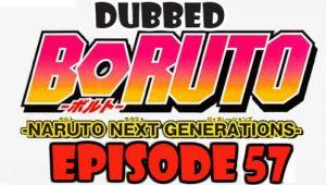 Boruto Episode 57 Dubbed English Free Online