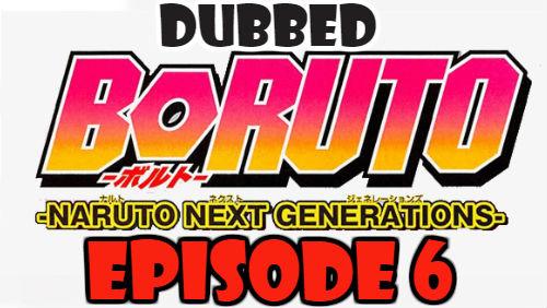 Boruto Episode 6 Dubbed English Free Online