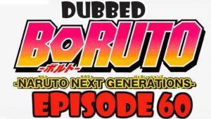 Boruto Episode 60 Dubbed English Free Online