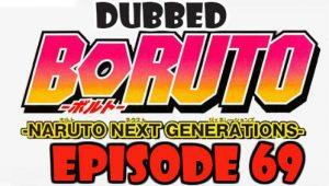 Boruto Episode 69 Dubbed English Free Online