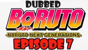 Boruto Episode 7 Dubbed English Free Online
