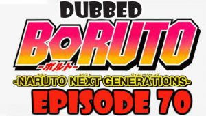 Boruto Episode 70 Dubbed English Free Online