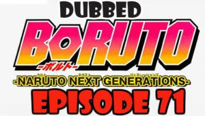 Boruto Episode 71 Dubbed English Free Online