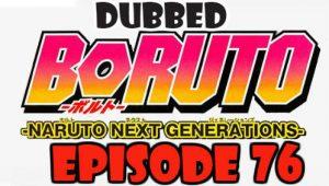 Boruto Episode 76 Dubbed English Free Online