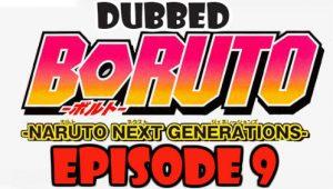 Boruto Episode 9 Dubbed English Free Online