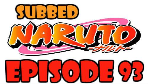 Naruto Episode 93 Subbed English Free Online