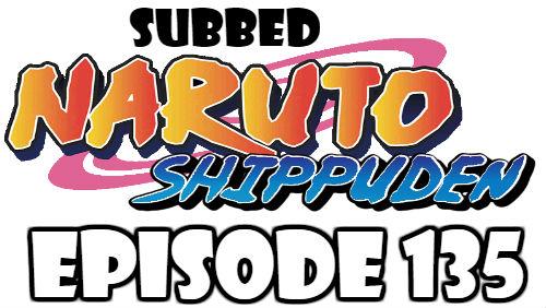 Naruto Shippuden Episode 135 Subbed English Free Online