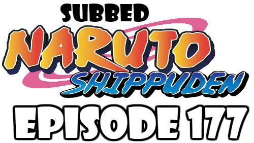 Naruto Shippuden Episode 177 Subbed English Free Online