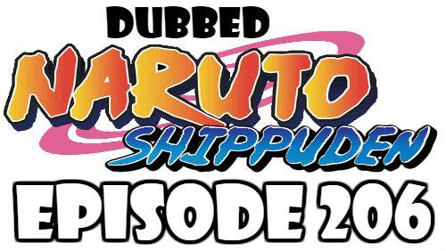 Naruto Shippuden Episode 206 Dubbed English Free Online