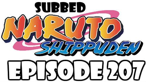 Naruto Shippuden Episode 207 Subbed English Free Online