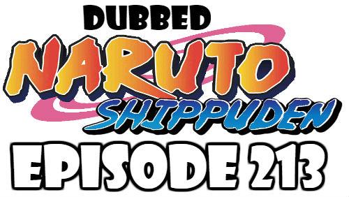 Naruto Shippuden Episode 213 Dubbed English Free Online