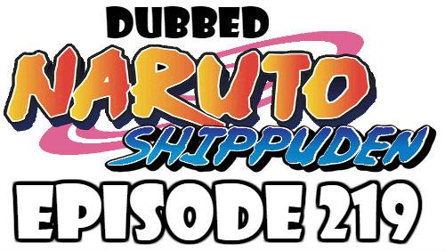 Naruto Shippuden Episode 219 Dubbed English Free Online