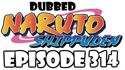 Naruto Shippuden Episode 314 Dubbed English Free Online