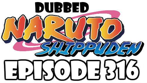 Naruto Shippuden Episode 316 Dubbed English Free Online