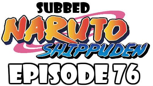 Naruto Shippuden Episode 76 Subbed English Free Online