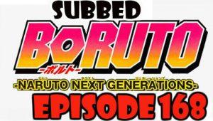 Boruto Episode 168 Subbed English Free Online