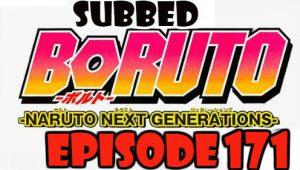 Boruto Episode 171 Subbed English Free Online