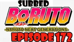 Boruto Episode 172 Subbed English Free Online