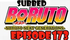 Boruto Episode 173 Subbed English Free Online