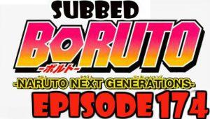 Boruto Episode 174 Subbed English Free Online