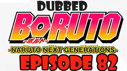 Boruto Episode 82 Dubbed English Free Online