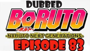 Boruto Episode 83 Dubbed English Free Online