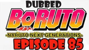 Boruto Episode 85 Dubbed English Free Online
