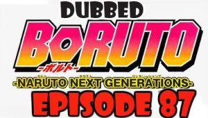 Boruto Episode 87 Dubbed English Free Online