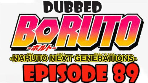 Boruto Episode 89 Dubbed English Free Online