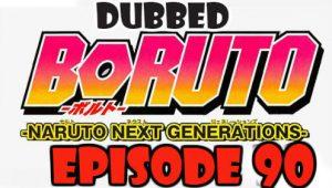 Boruto Episode 90 Dubbed English Free Online