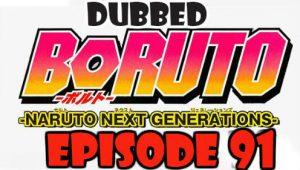 Boruto Episode 91 Dubbed English Free Online
