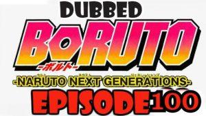 Boruto Episode 100 Dubbed English Free Online