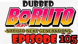 Boruto Episode 105 Dubbed English Free Online