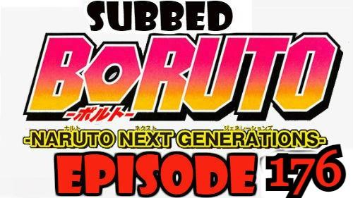 Boruto Episode 176 Subbed English Free Online